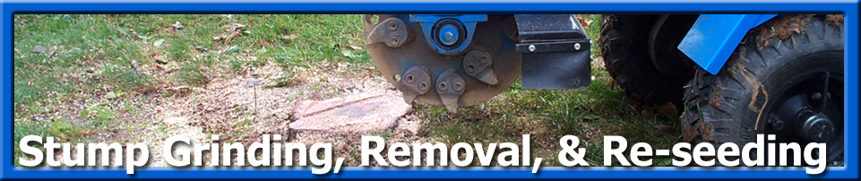 Grounds Care - Stump Grinding
