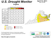 Virginia Drought Monitor